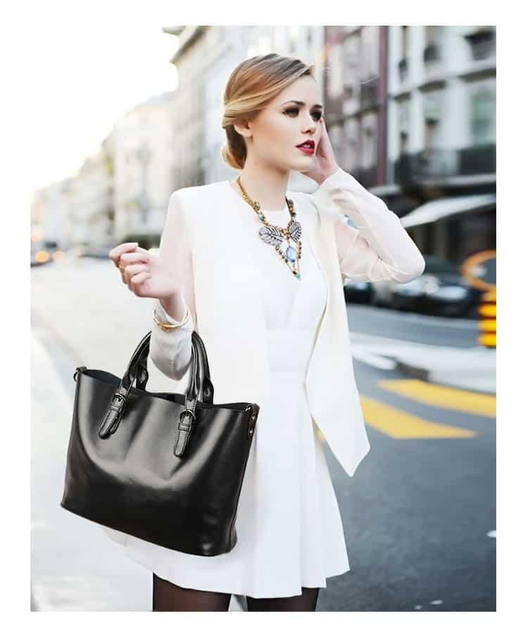 Women leather handbag, trendy new bag, shoulder bag. 3170-12