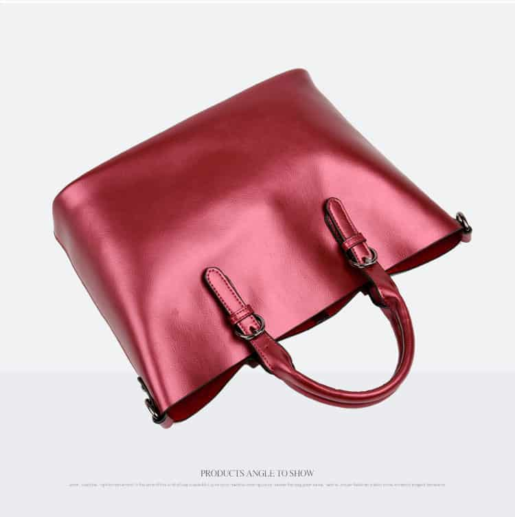 Women leather handbag, trendy new bag, shoulder bag. 3170-13