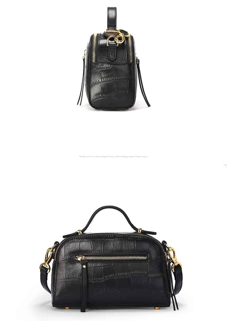 Women's leather handbag, cowhide fashion high-end handbag.18051201-1-4
